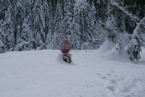 Smithbrook Road, Stevens Pass, snowshoeing