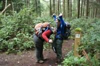 Trail signs, washington park, anacortes