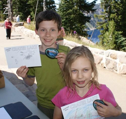crater lake, national park, oregon,