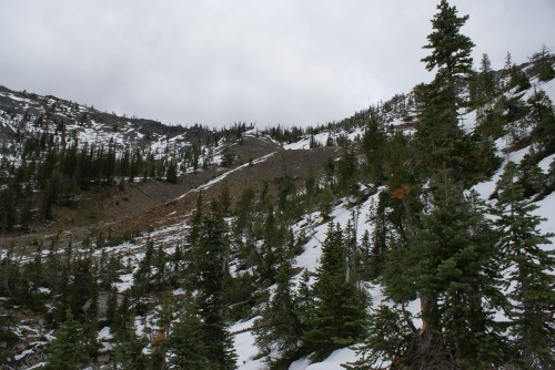 ingalls lake trail, fall hiking