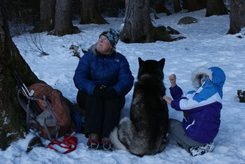 Olallie Lake, hiking with kids, winter hikes