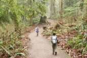 hiking with children, winter hikes, lord hill regional park