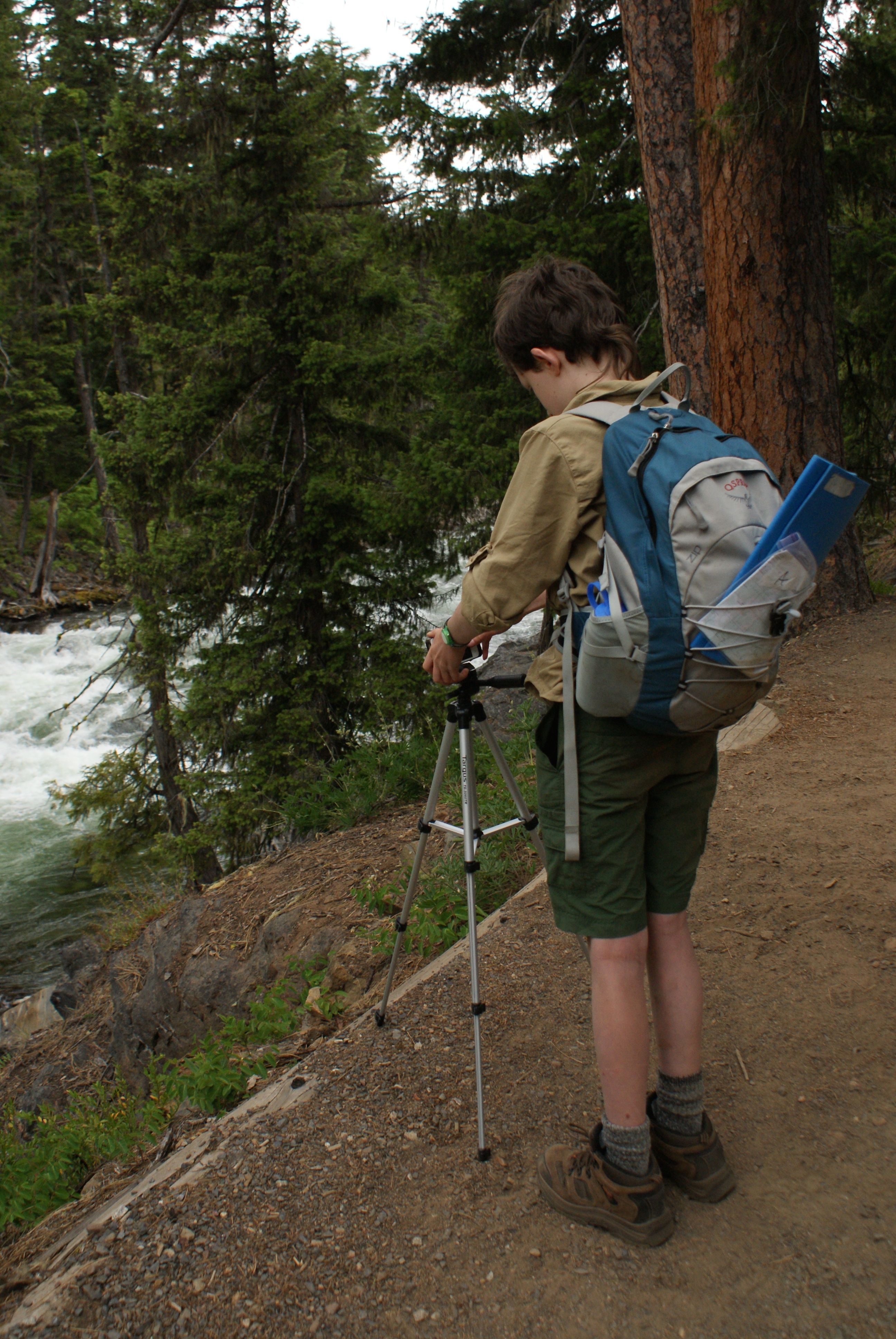 icicle river gorge trail, kids in nature, hiking with children