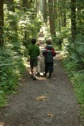 bridle trails sp, kids in nature, hiking with children