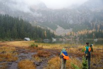 hiking with kids, best hikes for kids, fall hiking, north cascades, larches