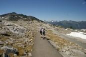 mt. Baker, hiking with children, alpine, artist ridge, artist point