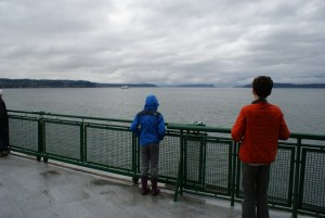 Whidbey Island, Hiking with kids,