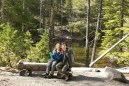 hiking with children, highway 20 hikes, kids on the trail, winter hiking