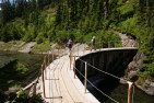 bagley lakes trail, chain lakes trail, mt baker hiking, hikes for kids, summer hiking,