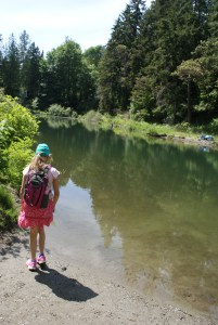 Boeing Creek park, shoreline, hiking with children, urban nature walks, kids in nature