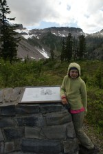 fire and ice trail, mt baker trails, hiking with kids, summer