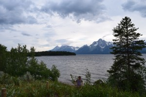 grand tetons, kids in nature
