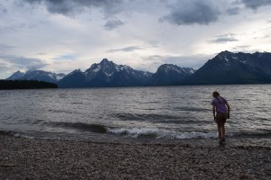 grand teton national park, colter bay campground, jackson lake
