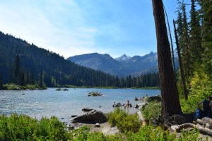 best hikes for kids, backpacking, summer hiking, swimming lake