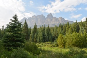 banff national park, canada, alberta, scenery, road trip