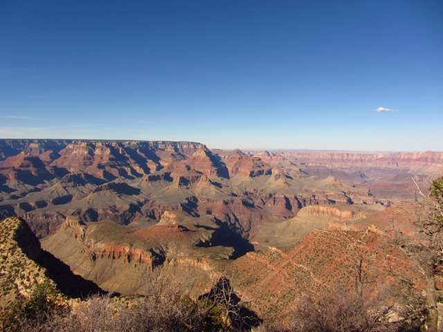 South Rim view of the Grand Canyon