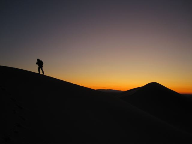 Sunset in the Gobi Desert | Mongolia, 2009