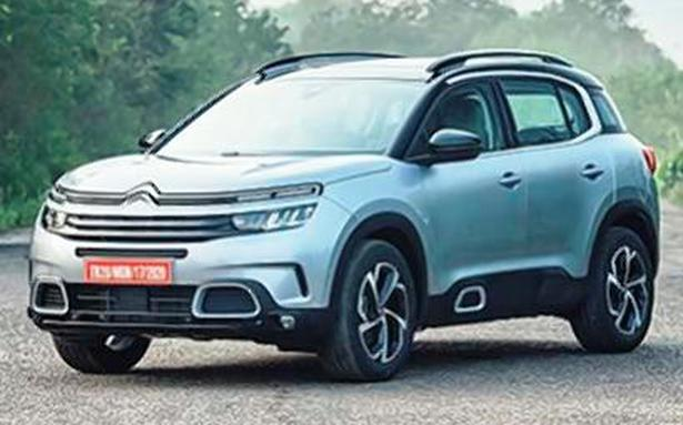 Citroen enters India with C5 Aircross SUV