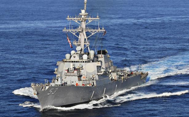 India protests against U.S. naval exercise sans consent