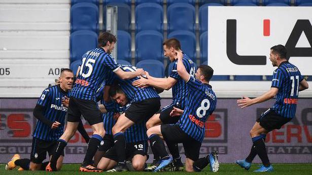 Atalanta jumps past Juventus into third