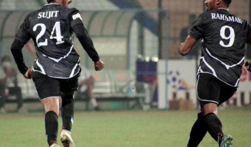 I-League   Rawat's goal stuns CCFC