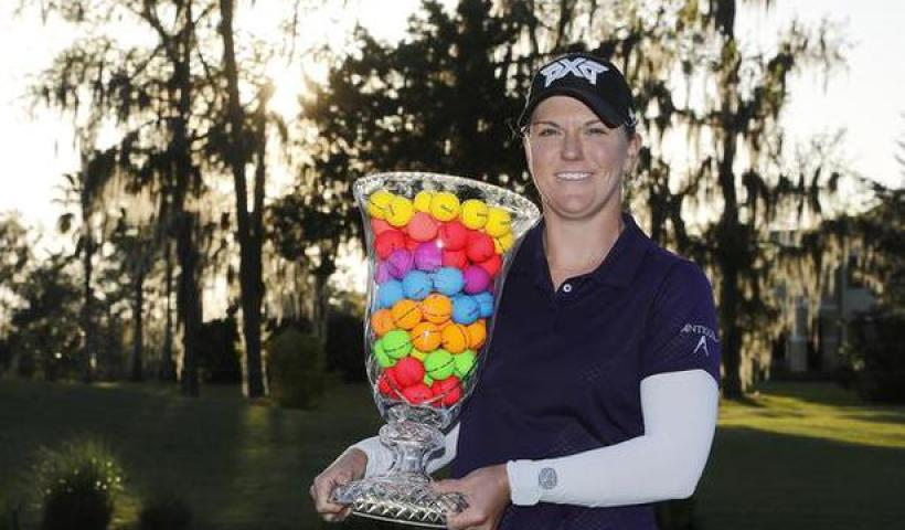 Ernst rolls to five-shot victory in LPGA Drive On Championship
