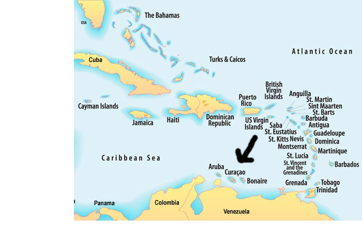 curacao map learning patience