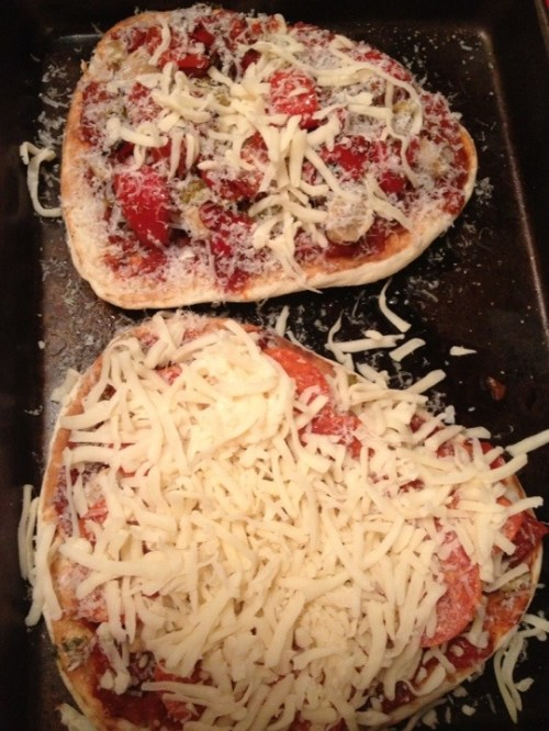 Naan Bread Pizza Learning Patience