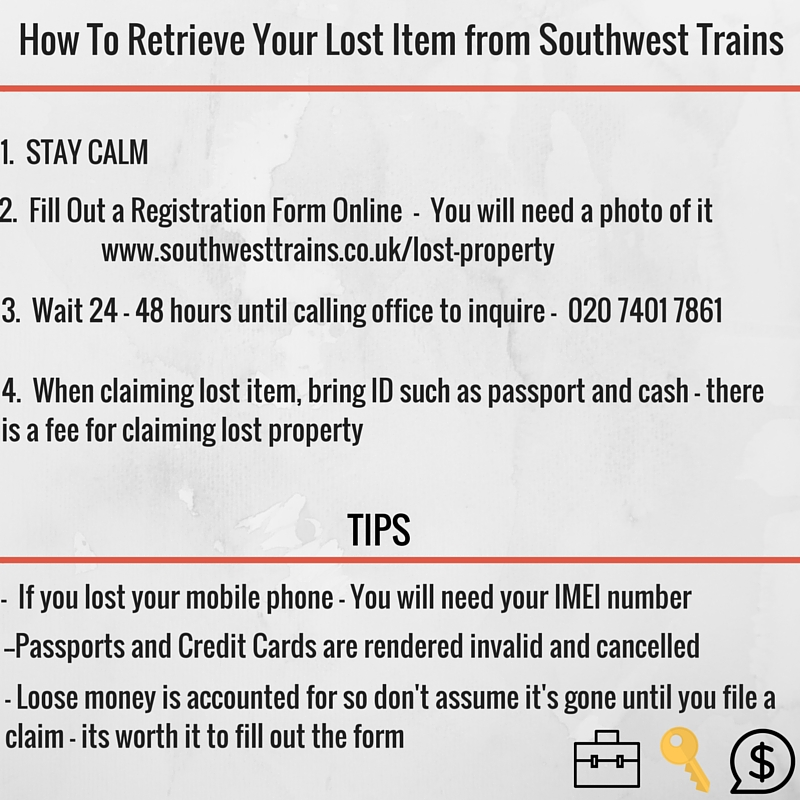 How To Reclaim Your Lost Southwest Train Property - Learning Patience