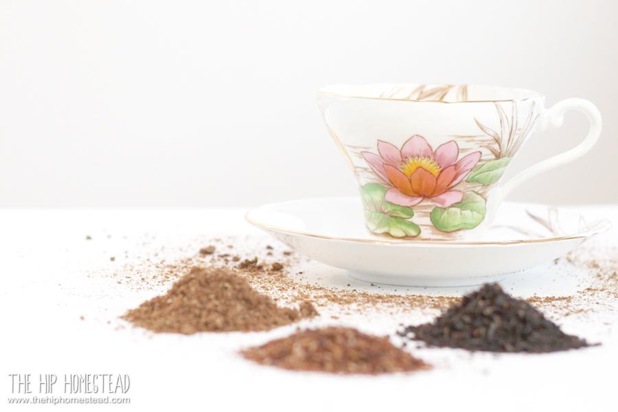 Spiced caffeine free chai tea 3 ways The Hip Homestead