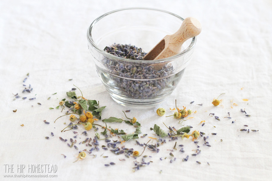 Chill Out Herbal Tea Dry Lavender The Hip Homestead