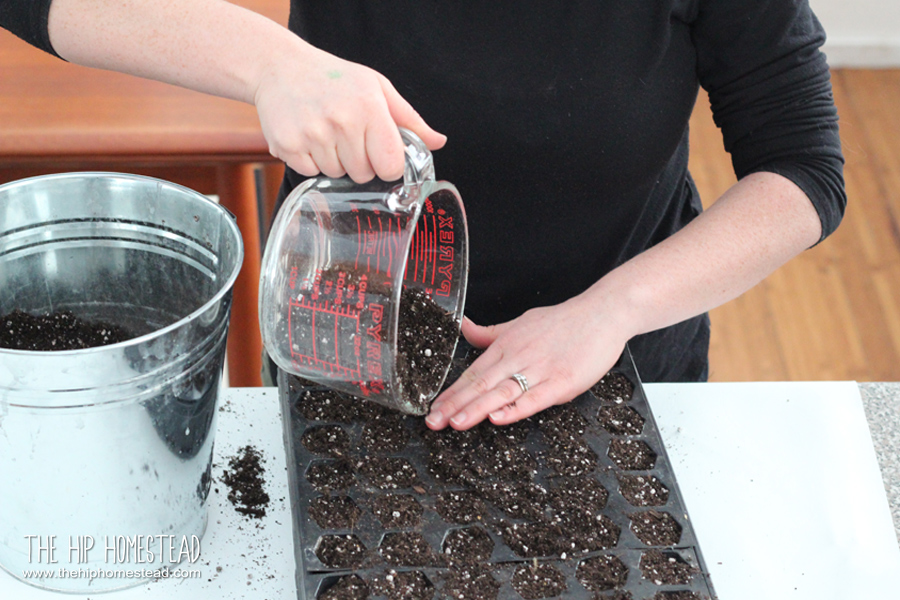 The Best DIY Seed Starting Mix The Hip Homestead