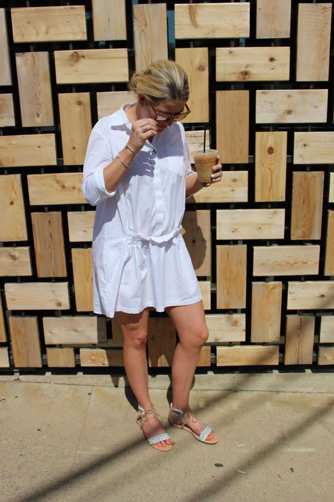 Summer Fashion Trends // Collared Shirt Dress // The H is For... // www.thehisfor.com