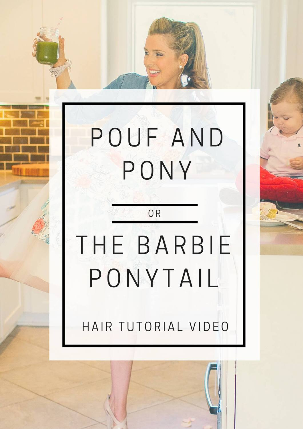 Barbie Ponytail // Hair Tutorial Video // www.thehisfor.com