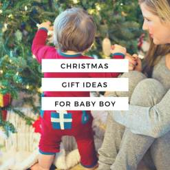 The H is For... Holiday Shop // Christmas Gift Ideas For Baby Boy // www.thehisfor.com