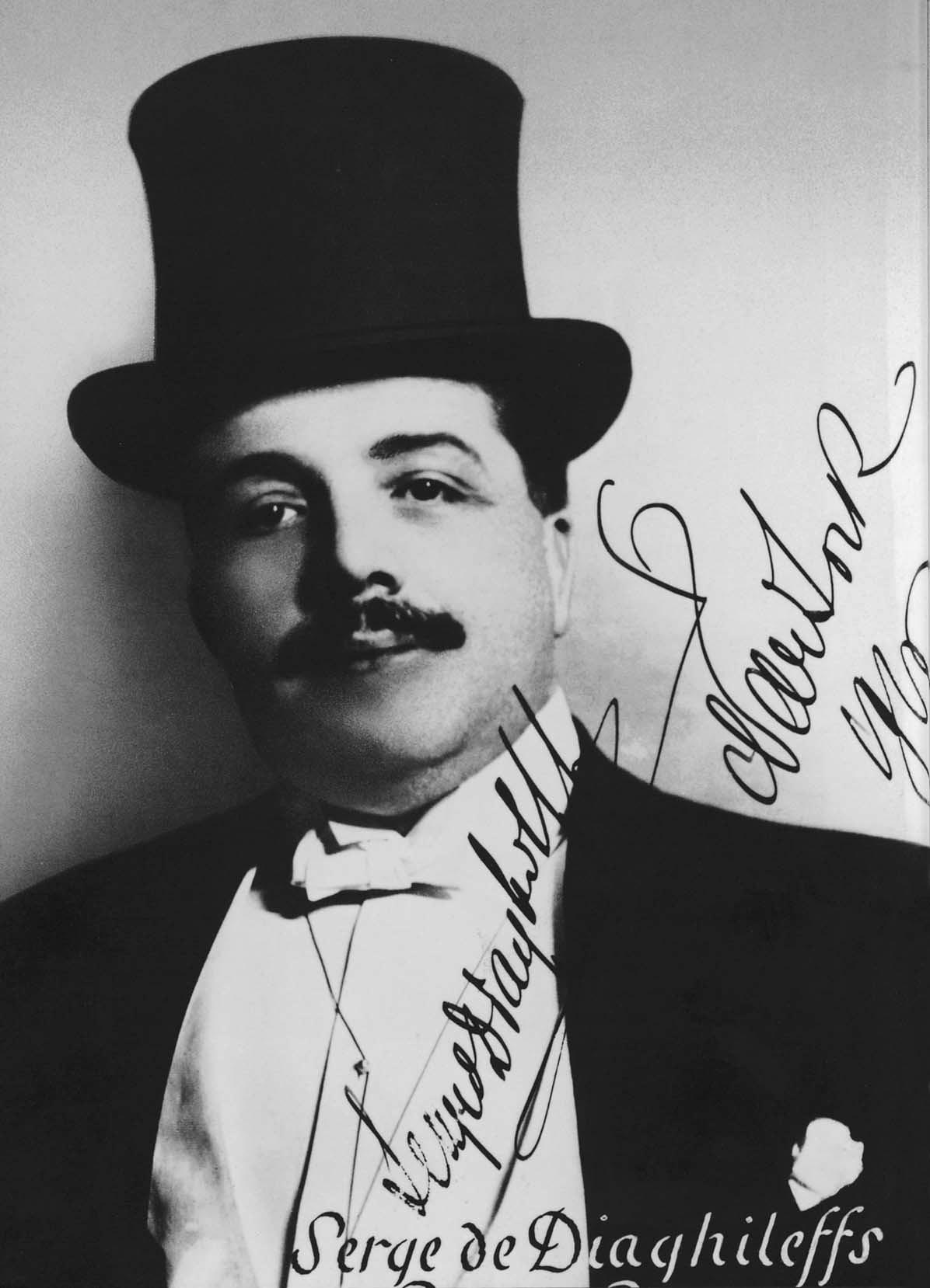 Serge Diaghilev, photograph by Jan de Sterlecki, 1916