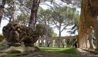 Romanesque cloister on the Mas del Vent estate