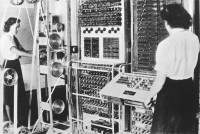 Codebreaking machine Colossus at Bletchley Park