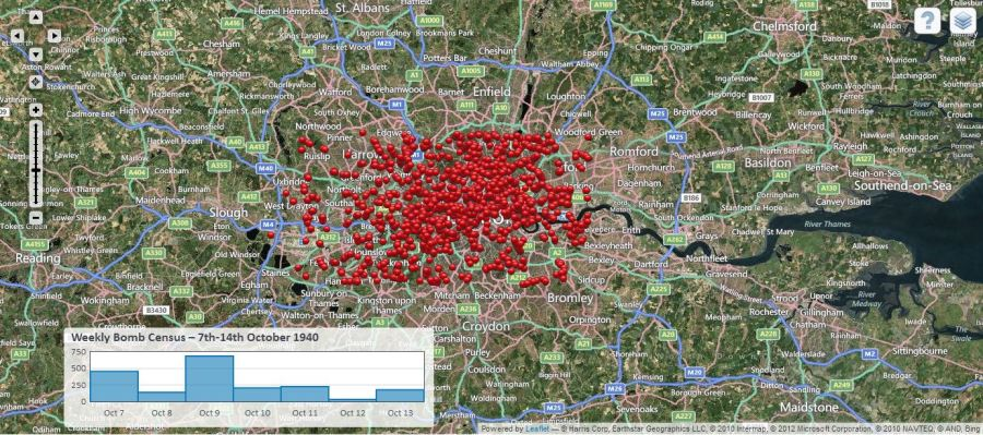 The History Blog      Blog Archive      Incredible Blitz map  or  how is     Here