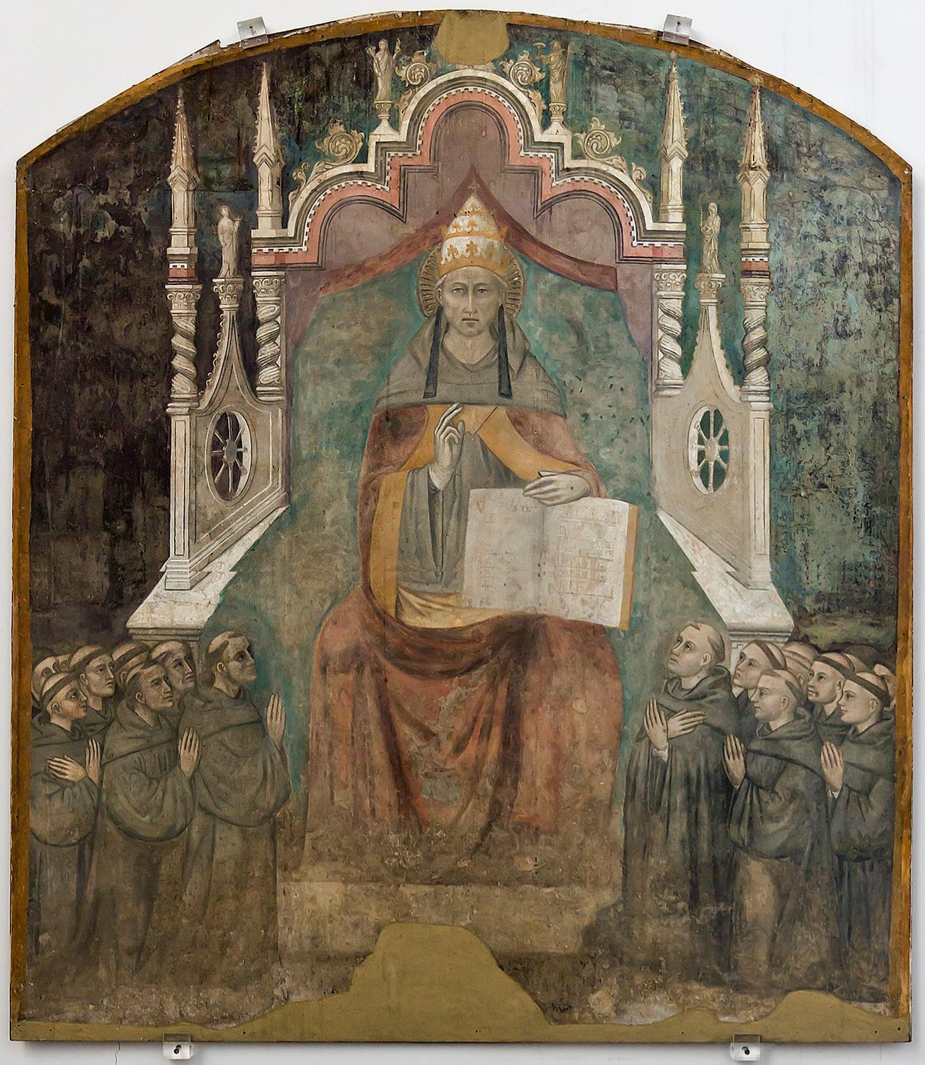 https://i1.wp.com/www.thehistoryblog.com/wp-content/uploads/2013/05/Pope-Saint-Celestine-V-in-Majesty-by-Niccolo-di-Tommaso.jpg