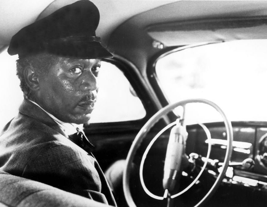 Morgan Freeman while shooting 'Driving Miss Daisy' (1989)