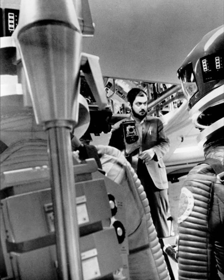 Stanley Kubrick directing