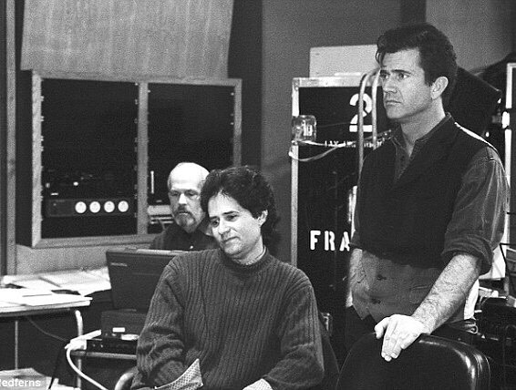 James Horner composing for 'Braveheart' (1995) with Mel Gibson