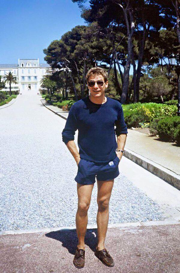 Harrison Ford at the Cannes Film Festival, 1982