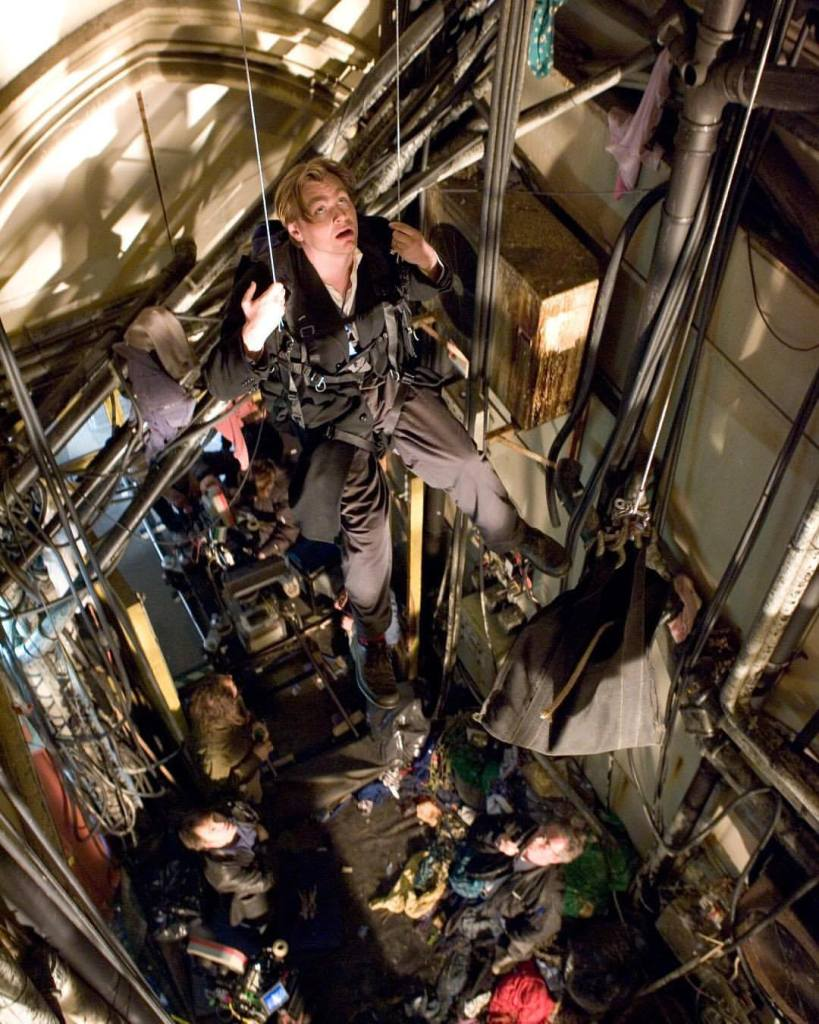As the history of cinema unfolds, Christopher Nolan has forged his way into history in the past 15 years. In this photo, on the set of 'Batman Begins' (2005)