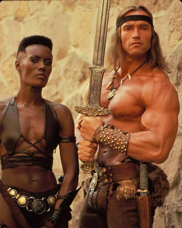 Conan the Barbarian (1982) behind the scenes