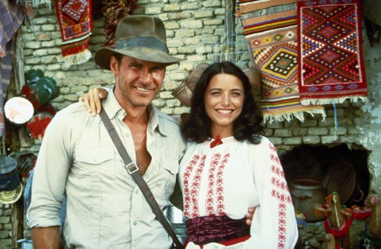 Indiana Jones behind the scenes