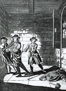 Image of Thomas Blood theft of Crown Jewels