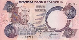 Image of Balewa Five Naira note
