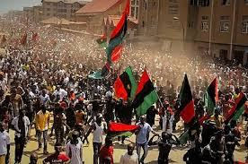 Image of Biafran protesters